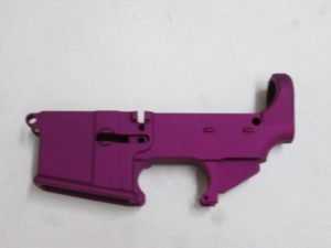 80% AR 15 purple lower