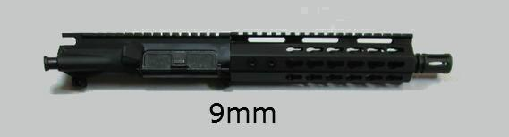 9mm AR pistol upper