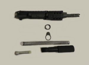 AR15 Complete Pistol Upper Assembled with Buffer Assembly