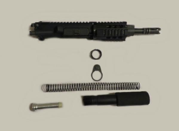 9MM AR 15 Pistol Kit 8 5 Inch Stainless Steel Barrel with No Lower