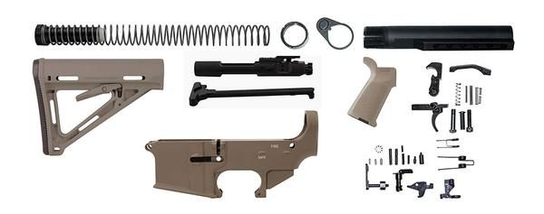 AR-15-flat-dark-earth-rifle-kit-included-parts-16-15