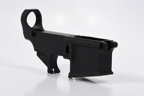 80% AR-15 Lower Receiver - Black - Daytona Tactical
