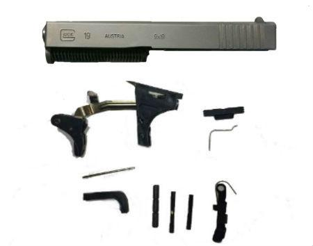 Glock 19 Compact lower parts kit and complete slide