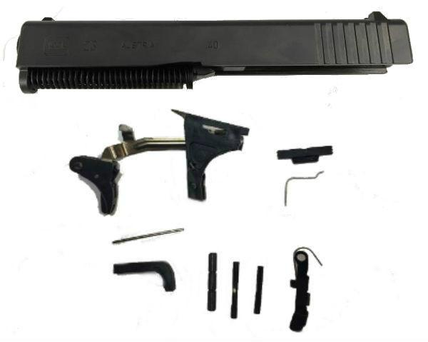 .40 Caliber 80 percent pistol frame kit with Glock 23 Parts