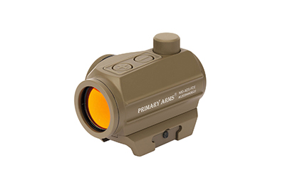 Primary Arms Advanced MicroDot Push Buttons - Flat Dark Earth FDE