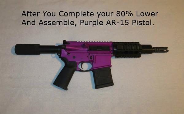 Purple-pistol-ar-15