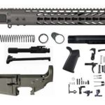 Tungsten-grey-16-inch-AR-15-Rifle-kit-15-keymod-with-lower