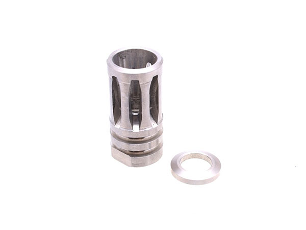 stainless steel a2 style flash hider suppressor