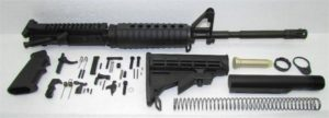 16 inch AR-15 upper with A2 sight tower without 80% Lower