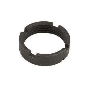 ar-15 / AR-10 receiver extension tube castle nut for stock and pistol buffer tubes