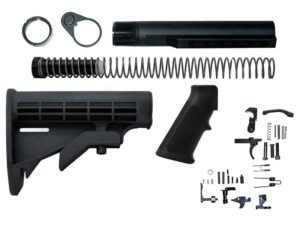 ar 15 lower build kit not including AR15 lower receiver