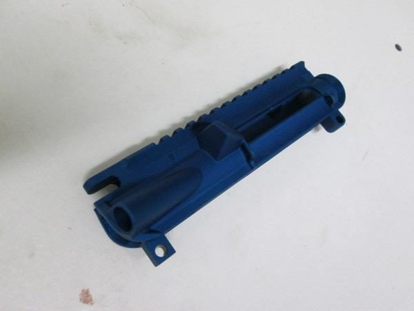 ar-15 stripped uppper receiver blue anodize