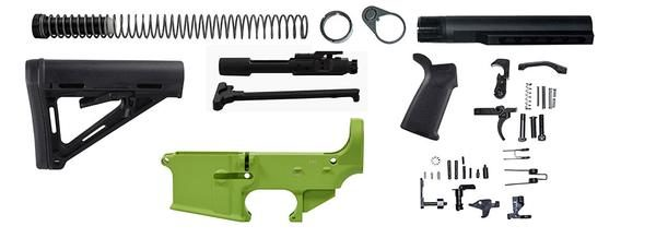 ar15-zombie-green-moe-rifle-kit-included-parts-with-lower