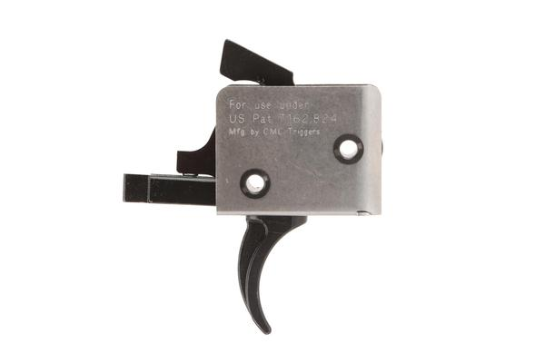 cmc triggers ar-15/ar-10 single stage curved drop in trigger 3.5 lb