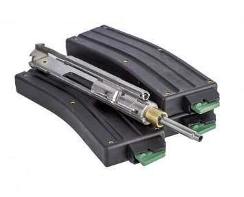 cmmg bravo 22 lr AR-15 conversion kit with (3) 25 round magazines