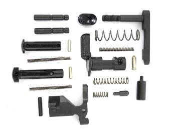 cmmg gunbuilder AR-15 lower parts kit no fire control group or grip