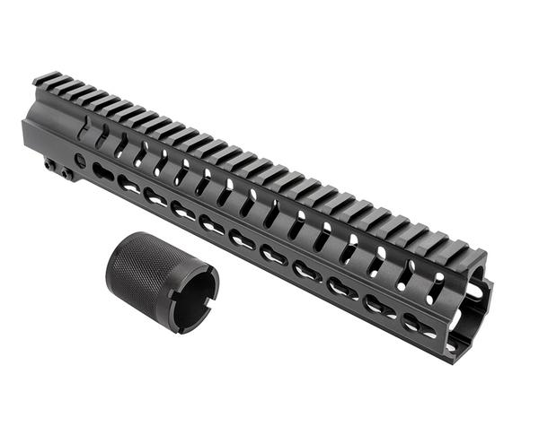 "cmmg 11"" AR-15 keymod handguard with barrel nut RKM11"