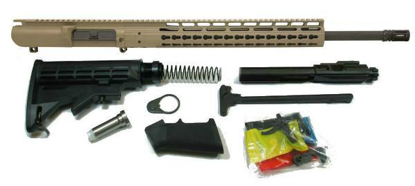308 rifle kit in flat dark earth