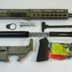 AR-15 flat dark earth pistol kit