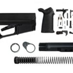Magpul ACS-L Lower Build Kit including Stock, Lower parts kit, moe grip and stock hardware.