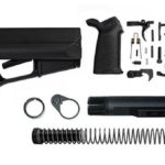 Magpul ACS Lower Build Kit with Stock, Lower parts kit, grip hardware - black