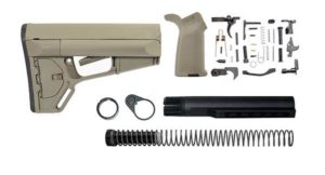 Magpul ACS Lower Build Kit Stock, Lower parts kit, grip hardware - Flat Dark Earth