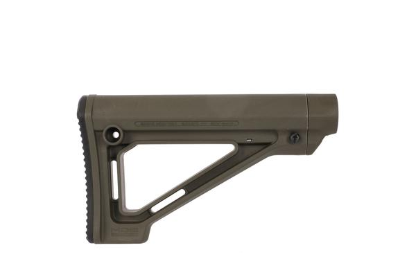 magpul moe fixed carbine mil-spec stock in od green