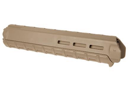 magpul moe m-lok rifle length handguard in flat dark earth