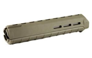 magpul moe m-lok od green rifle length handguard rail