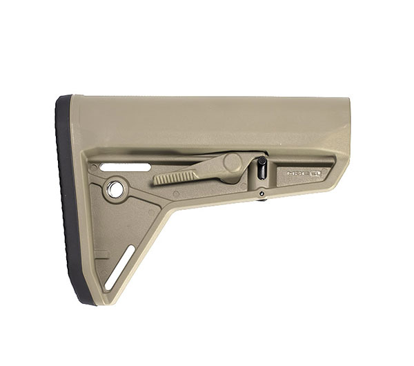 magpul Moe SL slim line mil-spec stock in Flat dark earth