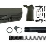 magpul moe SL-K lower build with stock, lower parts kit, and stock hardware - od green