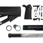 magpul STR Lower Build Kit including stock, lower parts kit - Black
