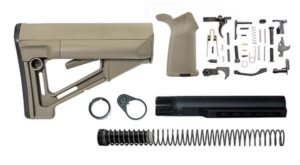 magpul STR Lower Build Kit including stock, lower parts kit - Flat Dark Earth