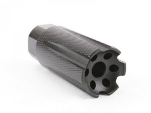 ar-15 muzzle compensator for low concussion