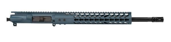 titanium-blue-ar-15-upper-16-inch-with-12-inch-keymod-no-bcg