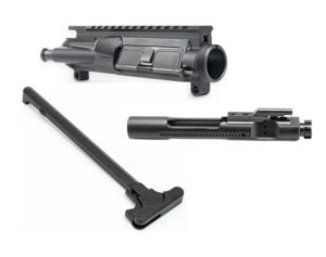 ar15 upper with bolt carrier group and charging handle