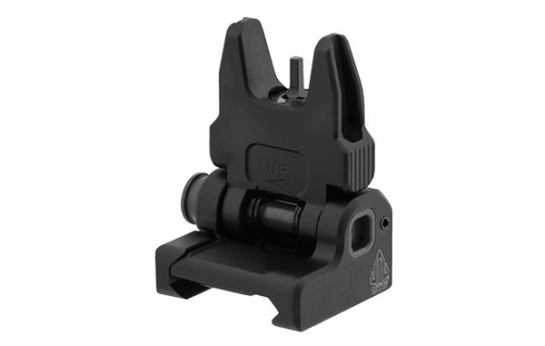 utg accu-sync spring loaded flip up front sight