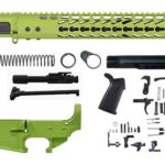 zombie-green-16-inch-AR-15-Rifle-kit-15-keymod-with-lower