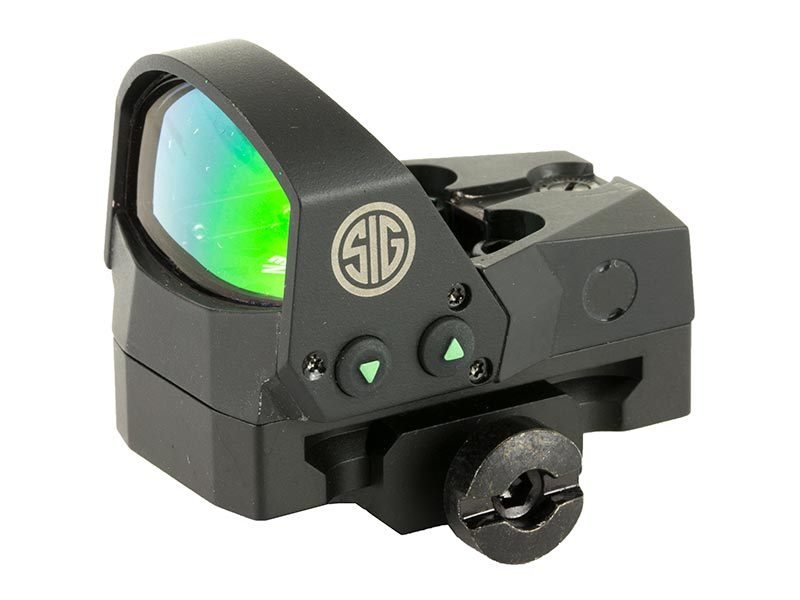 Sig Sauer SOR11001 Reflex Sight with 1913 Picatinny Mount - Black