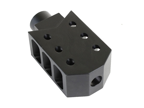 ar-10 barrett style muzzle brake for AR-10 / .308