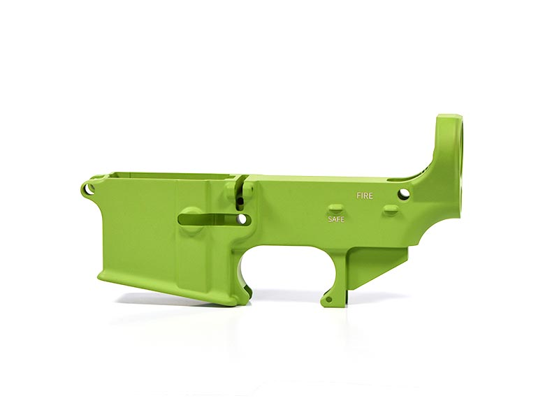 80% AR-15 Lower Receiver Cerakote Zombie Green