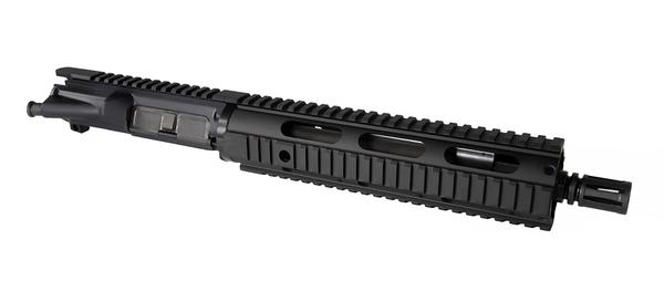 "10.5"" .223 Wylde Hbar Upper with 10"" quad rail - black"