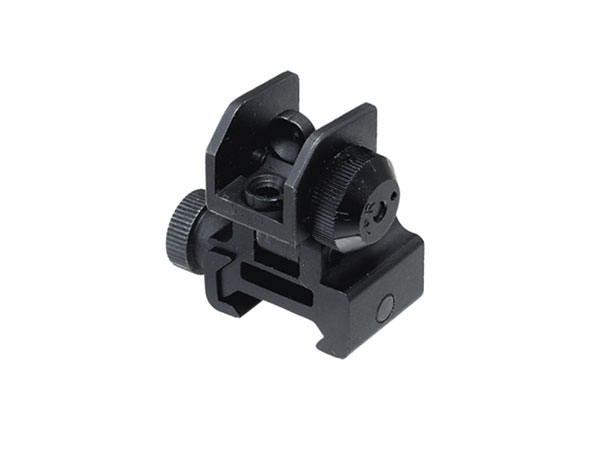 utg rear flip up sight with windage