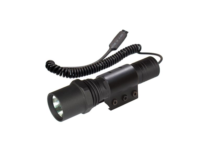 utg leapers 95 lumen xenon tactical and handheld mount flashlight