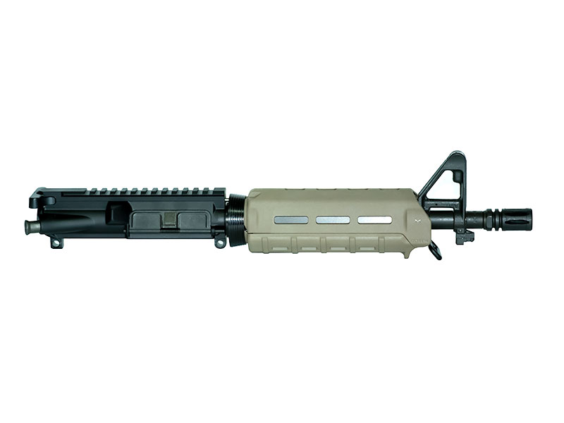 "palmetto state armory Psa 10.5"" Upper with A2 Sight Base and Moe FDE carbine Handguard"