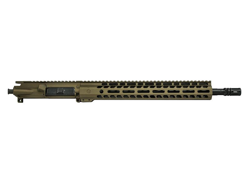 Ghost Firearms Elite 16″ 5.56 NATO Rifle Upper in Burnt Bronze