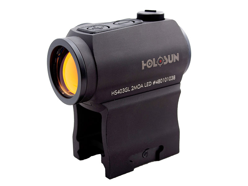 Holosun Compact Red Dot Sight with Side Battery