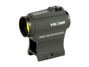 Holosun Solar Dual Reticle Micro Red Dot Sight