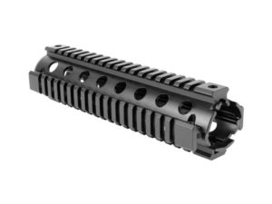 "AIM Sports AR-15/M4 10"" Two-Piece Quad Rail in Black"