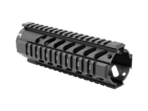 "AIM Sports AR-15 7"" Free Float Quad Rail - Black"